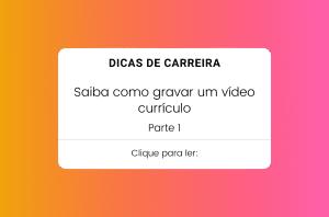 como gravar um vídeo currículo